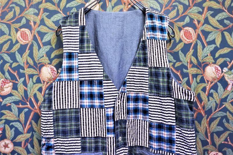 画像1: BOOZE Reversible Vest (リバーシブルベスト) (1)