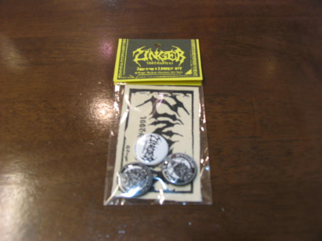 画像1: ZINGER 缶バッチset (1)
